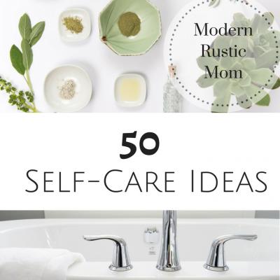 50 Self-Care Ideas