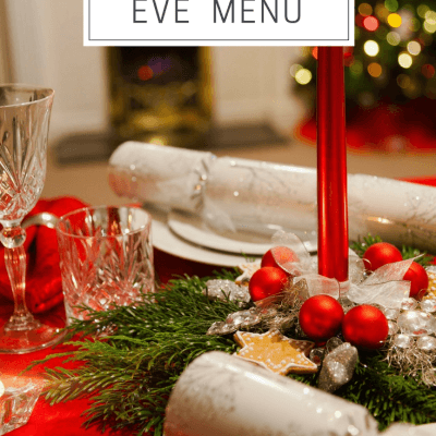 Christmas Eve Menu and Recap – 2017
