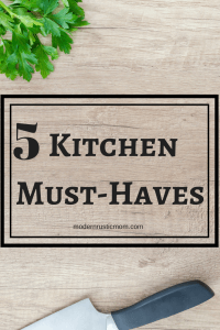 kitchen tools, kitchen must-haves