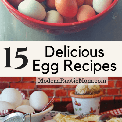 15 Delicious Egg Recipes