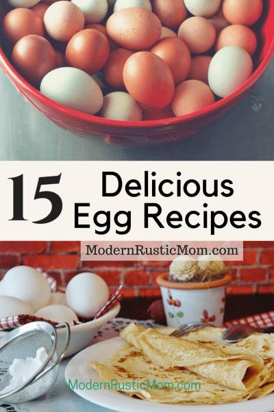 15 Delicious Egg Recipes