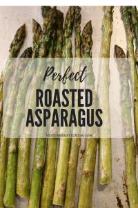 perfect roasted asparagus, asparagus