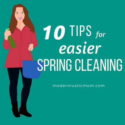 10 Tips for Easier Spring Cleaning