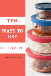leftover ideas, what to do with leftovers, leftovers