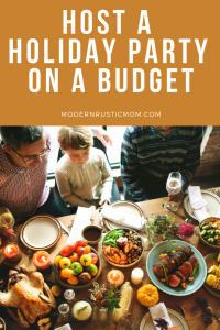 family holiday dinner how to host holiday on budget