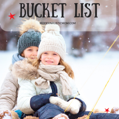 Winter Bucket List of Family Activities