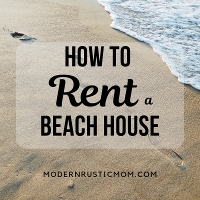 How to Rent a Vacation House