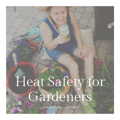 Heat Safety for Gardeners